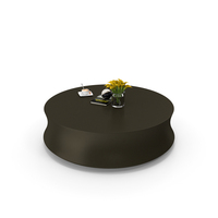 Soori Coffee Table Poliform PNG & PSD Images
