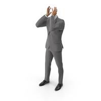 Sterss Suit Grey PNG & PSD Images