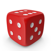 Dice Red PNG & PSD Images