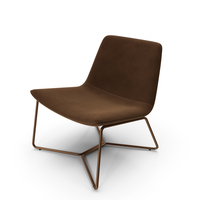 Westelm Slope Lounge Chair PNG & PSD Images