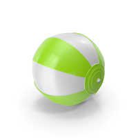 Beach Ball Green PNG & PSD Images