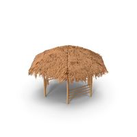 3 Bamboo Shelter Canopy PNG & PSD Images