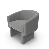 Adele Grey Armchair by Life Interiors PNG & PSD Images