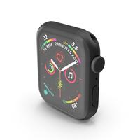 Apple Watch SE Black PNG & PSD Images