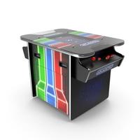 ArcadePro Mars 55 Cocktail Arcade Machine PNG & PSD Images