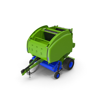 Bale Wrapper Machine PNG & PSD Images