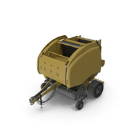 Bale Wrapper Machine Dirty PNG & PSD Images