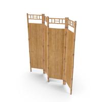 Bamboo Room Divider Wall Screen PNG & PSD Images