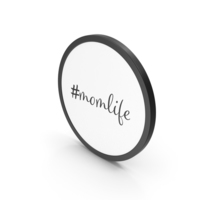Hashtag Mom Life PNG & PSD Images