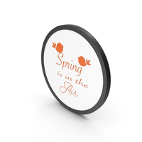 Spring Is In The Air PNG & PSD Images