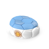Soccerball Empty Argentina PNG & PSD Images