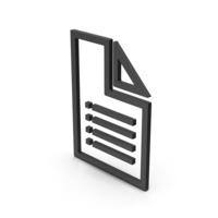 Symbol File Black PNG & PSD Images