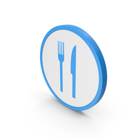 Icon Food Blue PNG & PSD Images
