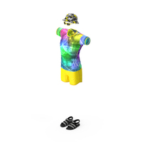 Beach Style Clothes Set PNG & PSD Images