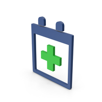 Symbol Medical Calendar Colored PNG & PSD Images