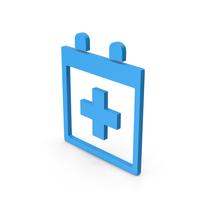 Symbol Medical Calendar Blue PNG & PSD Images
