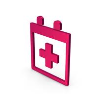 Symbol Medical Calendar Metallic PNG & PSD Images