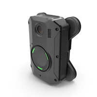Body Camera with Magnet Mount PNG & PSD Images