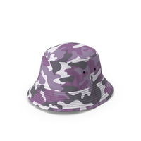Bucket Hat Camo PNG & PSD Images
