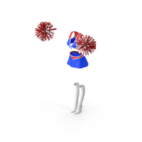 Cheerleader Outfit Set PNG & PSD Images