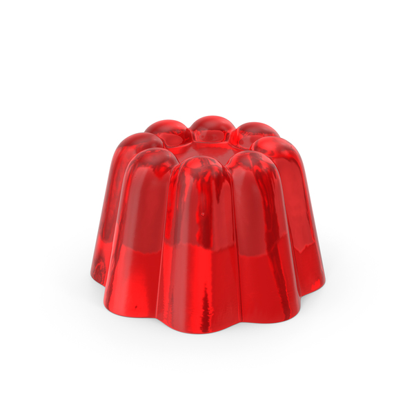 Cherry Jelly Pudding PNG & PSD Images