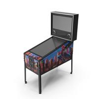 Classic Arcade Virtual Pinball Machine PNG & PSD Images