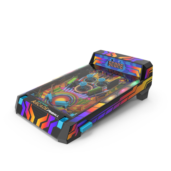 Compact Electronic Pinball Game PNG & PSD Images