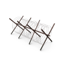 Concertina Razor Wire Coil Barrier Old PNG & PSD Images