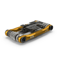 Crankbrothers M19 Bike Multi Tool Folded PNG & PSD Images