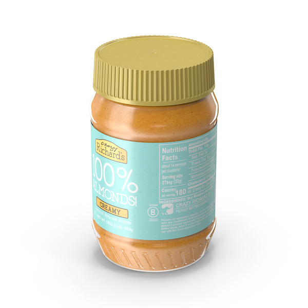 Crazy Richard Almond Butter PNG & PSD Images