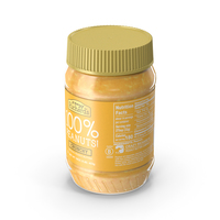 Crazy Richard Crunchy Peanut Butter PNG & PSD Images