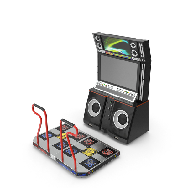 Dance Arcade Machine PNG & PSD Images