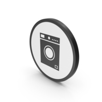 Icon Washing Machine PNG & PSD Images