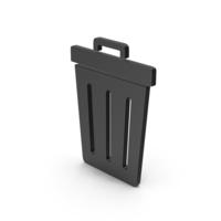 Symbol Trash Black PNG & PSD Images