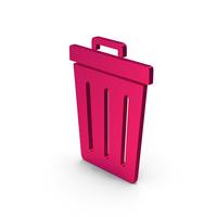 Symbol Trash Metallic PNG & PSD Images