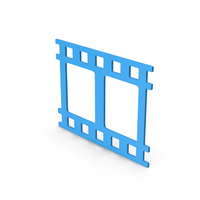 Symbol Movie Blue PNG & PSD Images