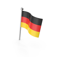 Germany Pin Flag PNG & PSD Images