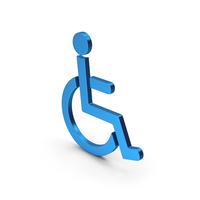Symbol Invalid Blue Metallic PNG & PSD Images