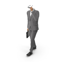 Bag and Sunglasses Suit Grey PNG & PSD Images
