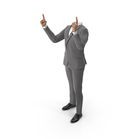 Hands Thumbs Up Suit Grey PNG & PSD Images