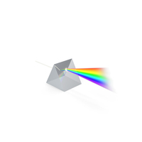 Dispersion of Light in Glass Prism PNG & PSD Images