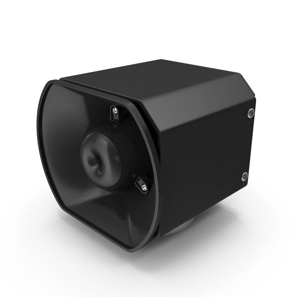 Emergency Vehicle Siren Speaker PNG & PSD Images