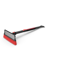 Extendable Snow Brush Ice Scraper PNG & PSD Images
