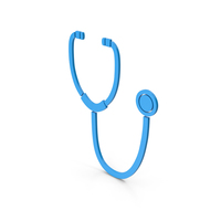 Symbol Stethoscope Blue PNG & PSD Images