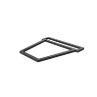 Black Symbol Ceramic Pot PNG & PSD Images