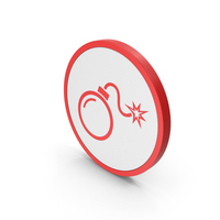 Icon Bomb Red PNG & PSD Images