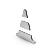 Symbol Road Cone Silver PNG & PSD Images