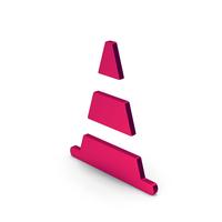 Symbol Road Cone Metallic PNG & PSD Images