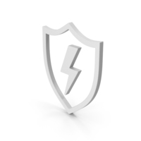 Symbol Shield And Lighting PNG & PSD Images