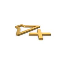 Gold Symbol Sound OFF PNG & PSD Images